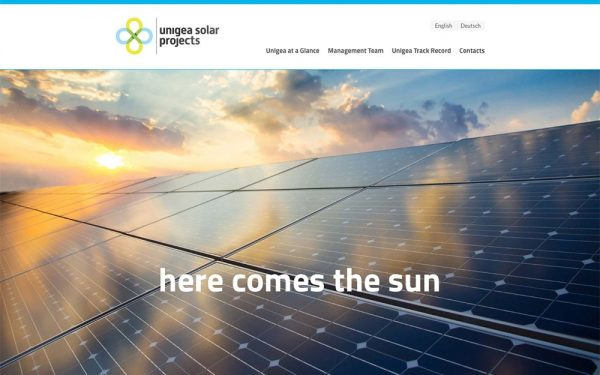 Unigea Solar Projects